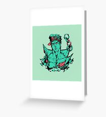 Kujo Jo Jo Greeting Card