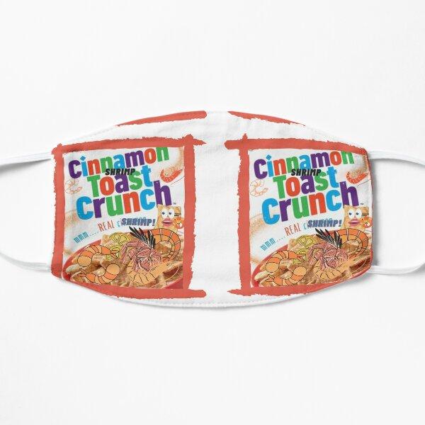 Cinnamon Shrimp Toast Parody Meme Pun Flat Mask