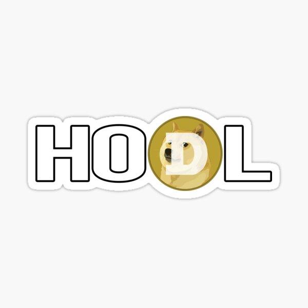 HODL Doge Sticker