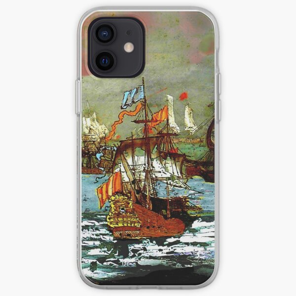 Ships at Sea iPhone Soft Case