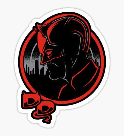 Devilish Detective Sticker