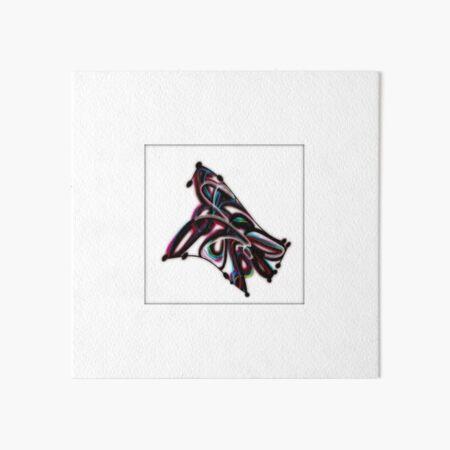 TUBULAR MOTION by REKHA IYERN FE RECORDS CANADA Art Board Print