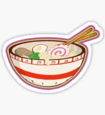 Ramen bowl Glossy Sticker