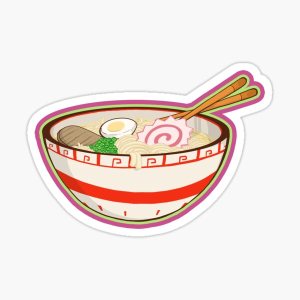Ramen bowl Sticker