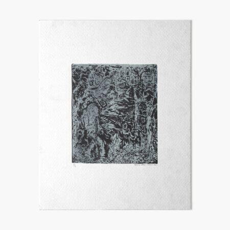 THE WOODCUTTER by REKHA IYERN FE RECORDS CANADA Art Board Print