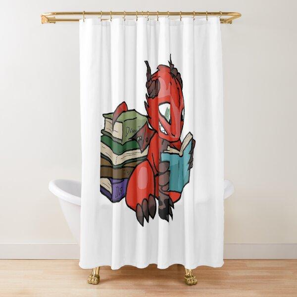Chibi Brand from Minerva Howe's Dragon Hoard Series Shower Curtain