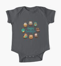 Tribal owls Kids Clothes
