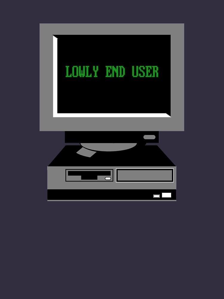 Lowly End User by rajjawa
