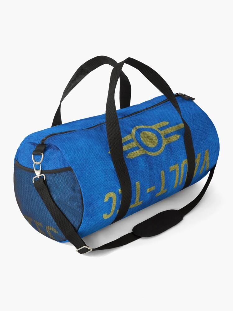 Alternate view of Fallout Grungy Vault-Tec Fabric Duffle Bag