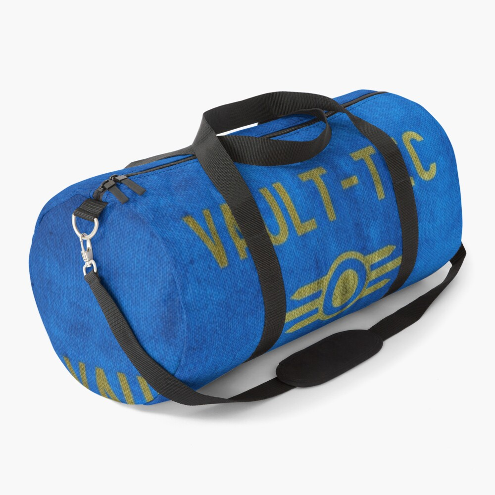 Fallout Grungy Vault-Tec Fabric Duffle Bag
