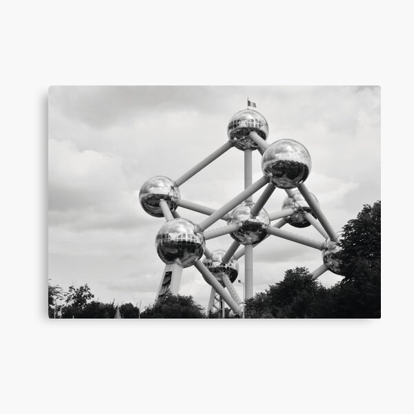 Atomium Canvas Print