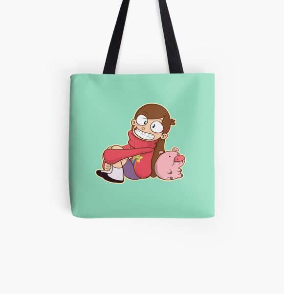 Mabel Pines All Over Print Tote Bag