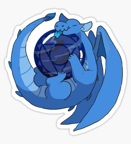 Sodalite dragon Sticker