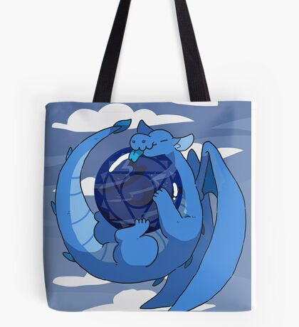 Sodalite dragon Tote Bag