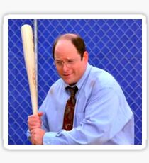 George costanza in the cage Sticker