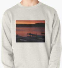 Surreal Sunrise on Gun Lake Pullover Sweatshirt