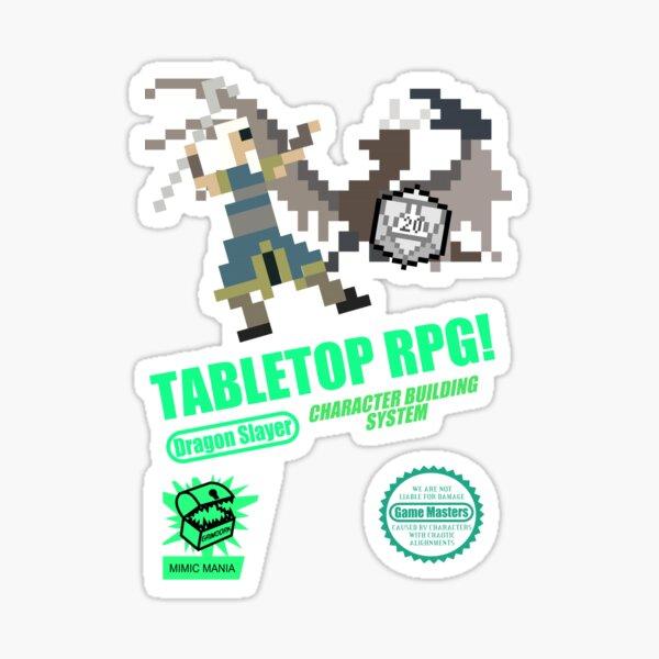 Tabletop RPG! Sticker