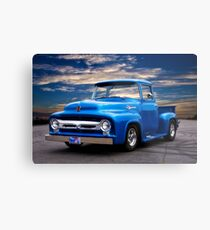 1956 Ford F100 Pickup Metal Print