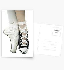 Pointe Shoe + Converse Postcards