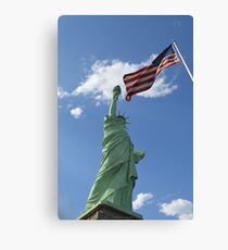 Liberty & Justice Canvas Print