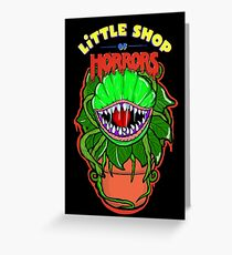little shop of horrors Audrey 2 Greeting Card