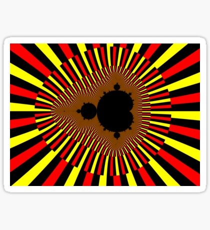 Mandelbrot Power Sticker