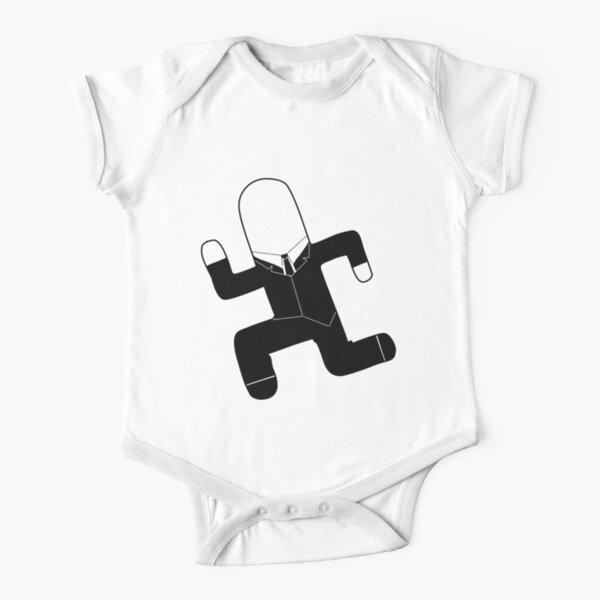 Slender FF Short Sleeve Baby One-Piece