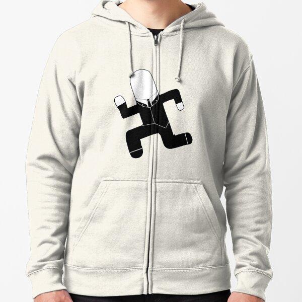 Slender FF Zipped Hoodie