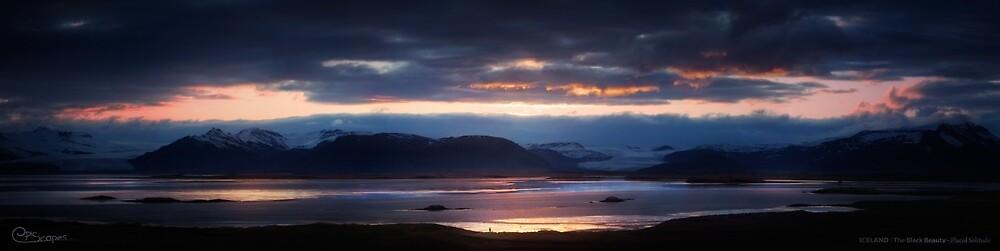 Placid Solitude - Iceland   The Black Beauty von EpicScapes