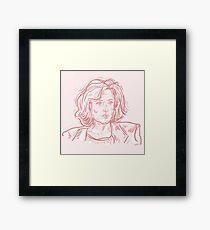 Scullaay Framed Print