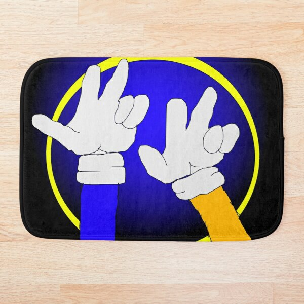 Sonic the Hedgehog 2 : Sonic and Tails Bath Mat