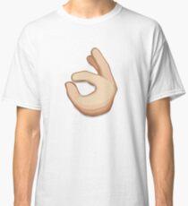 Ok Hand Sign Emoji Classic T-Shirt