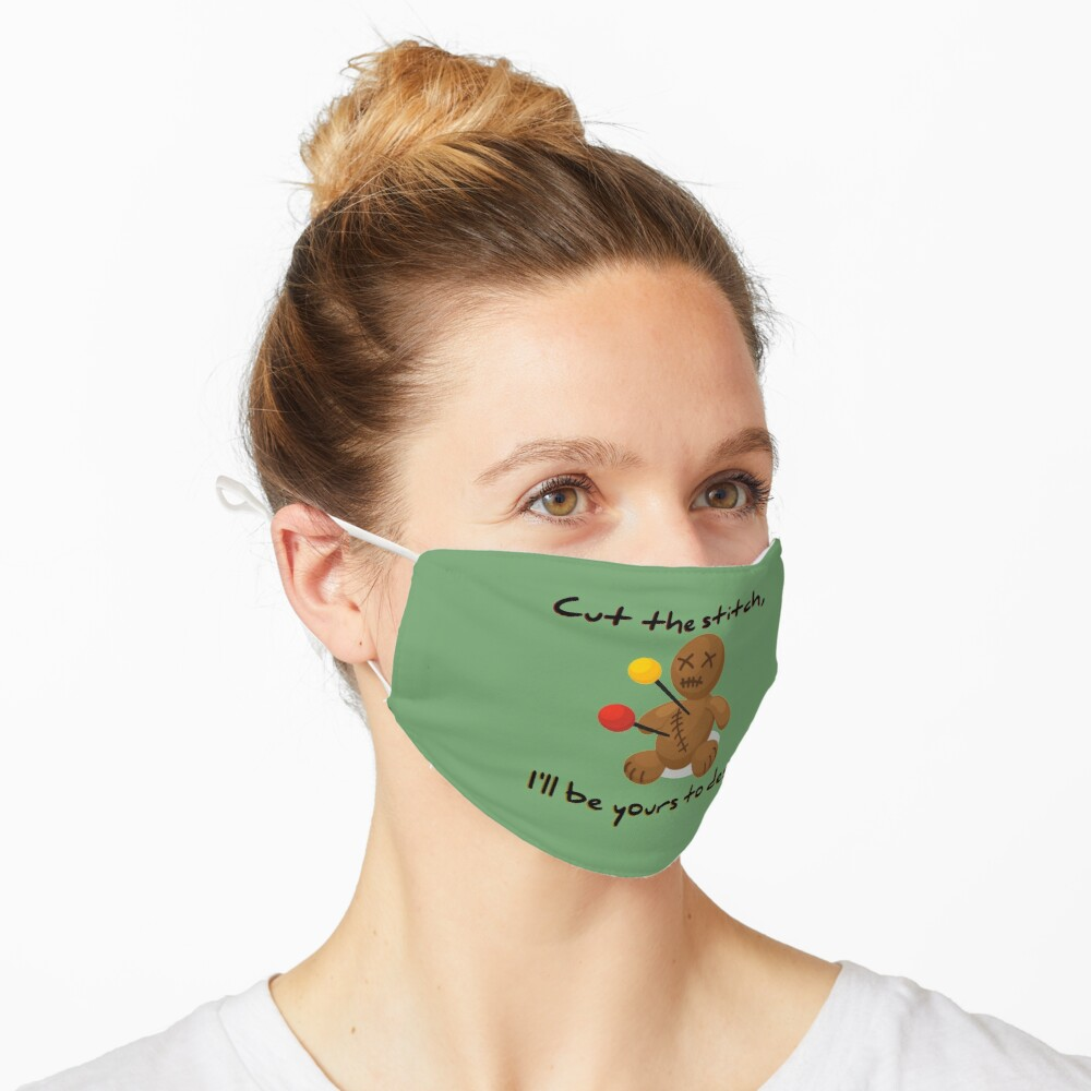 Cut The Stitch, Yours To Design - James Marriott Design Mask
