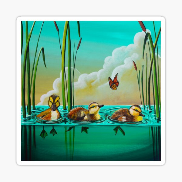 Ducklings Sticker
