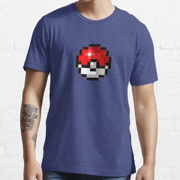 Pokeball Pixel Art Essential T-Shirt