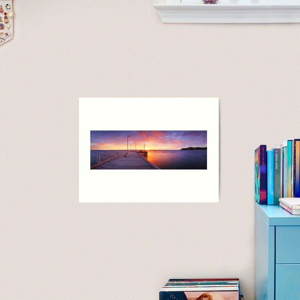 Flinders Pier, Mornington Peninsula, Victoria, Australia Art Print