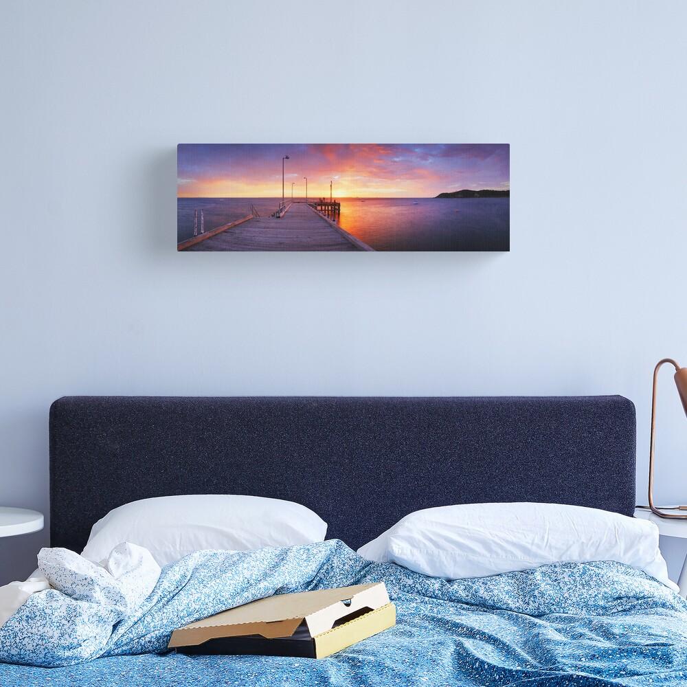 Flinders Pier, Mornington Peninsula, Victoria, Australia Canvas Print