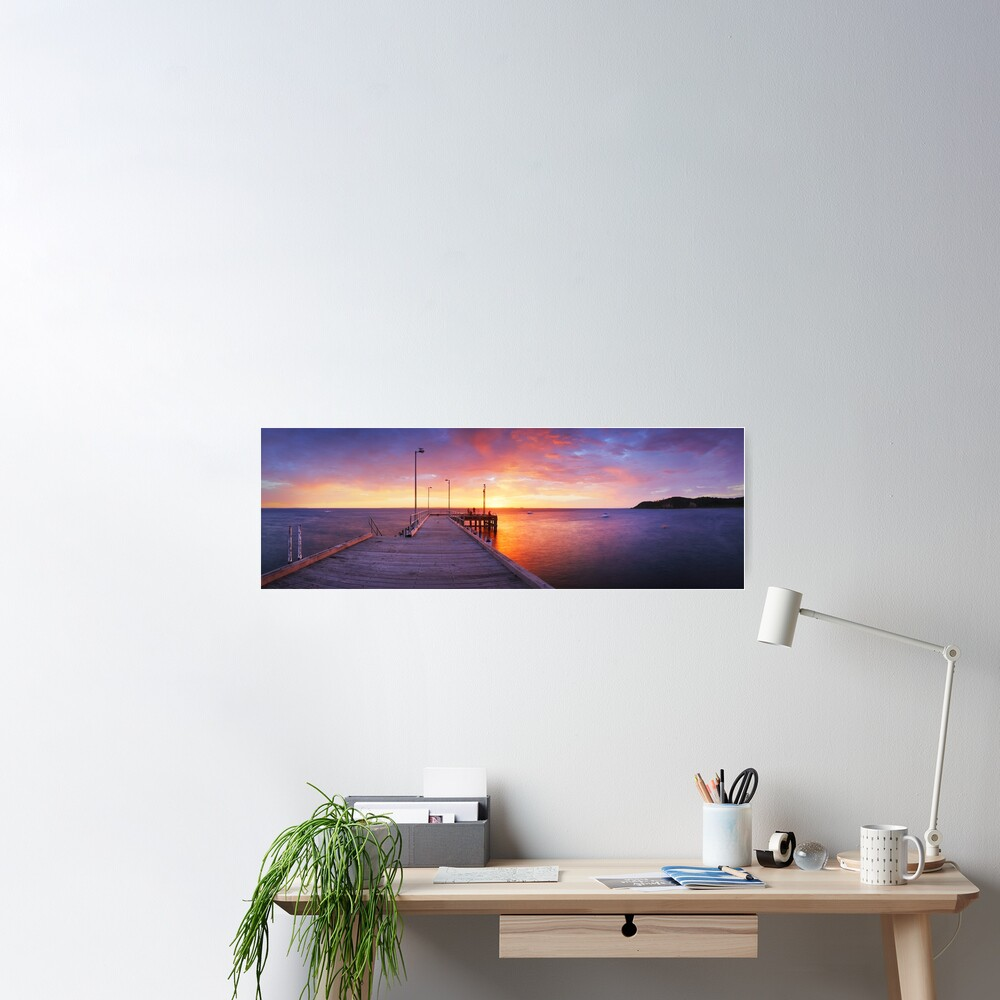 Flinders Pier, Mornington Peninsula, Victoria, Australia Poster