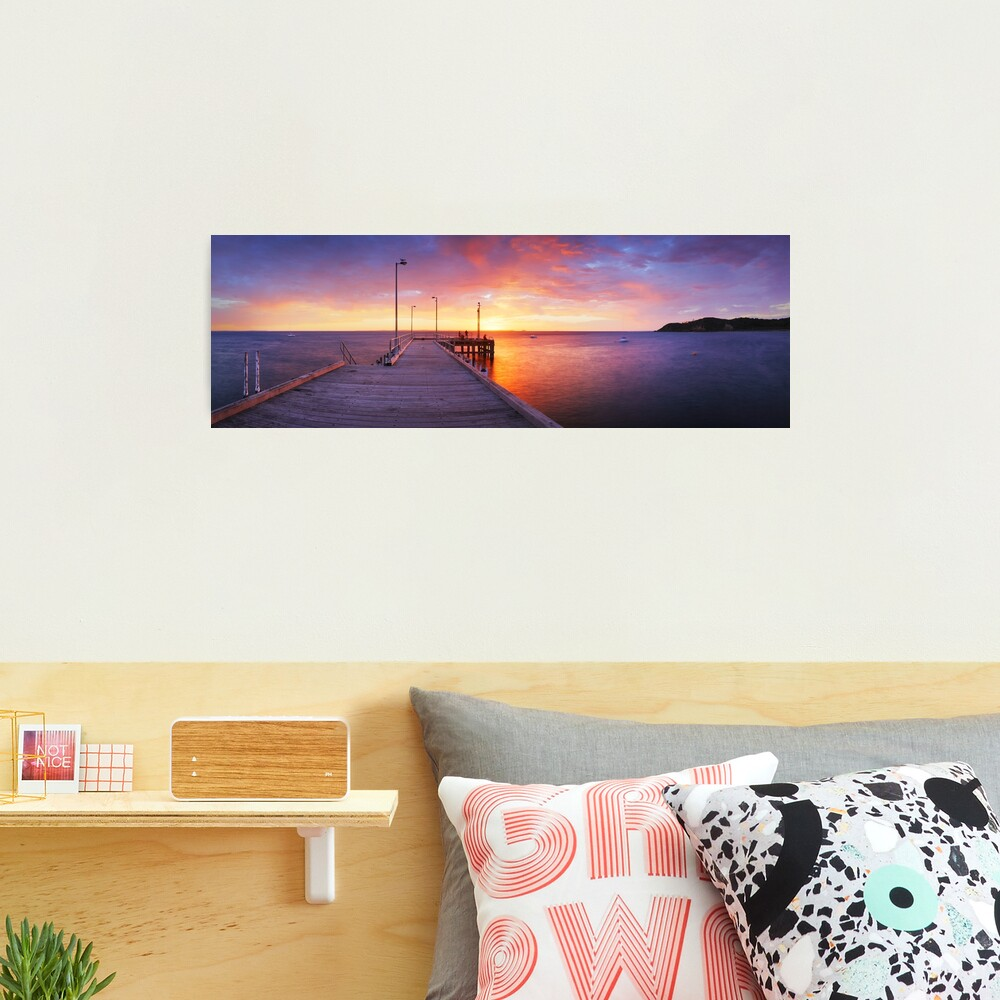 Flinders Pier, Mornington Peninsula, Victoria, Australia Photographic Print