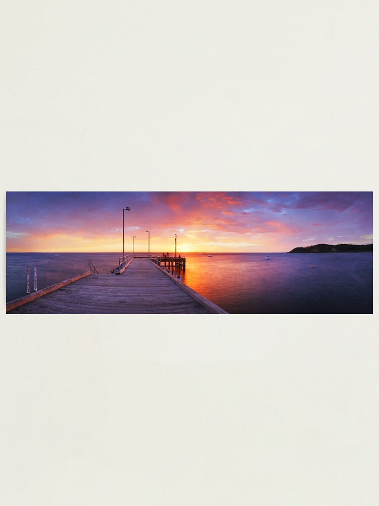 Alternate view of Flinders Pier, Mornington Peninsula, Victoria, Australia Photographic Print