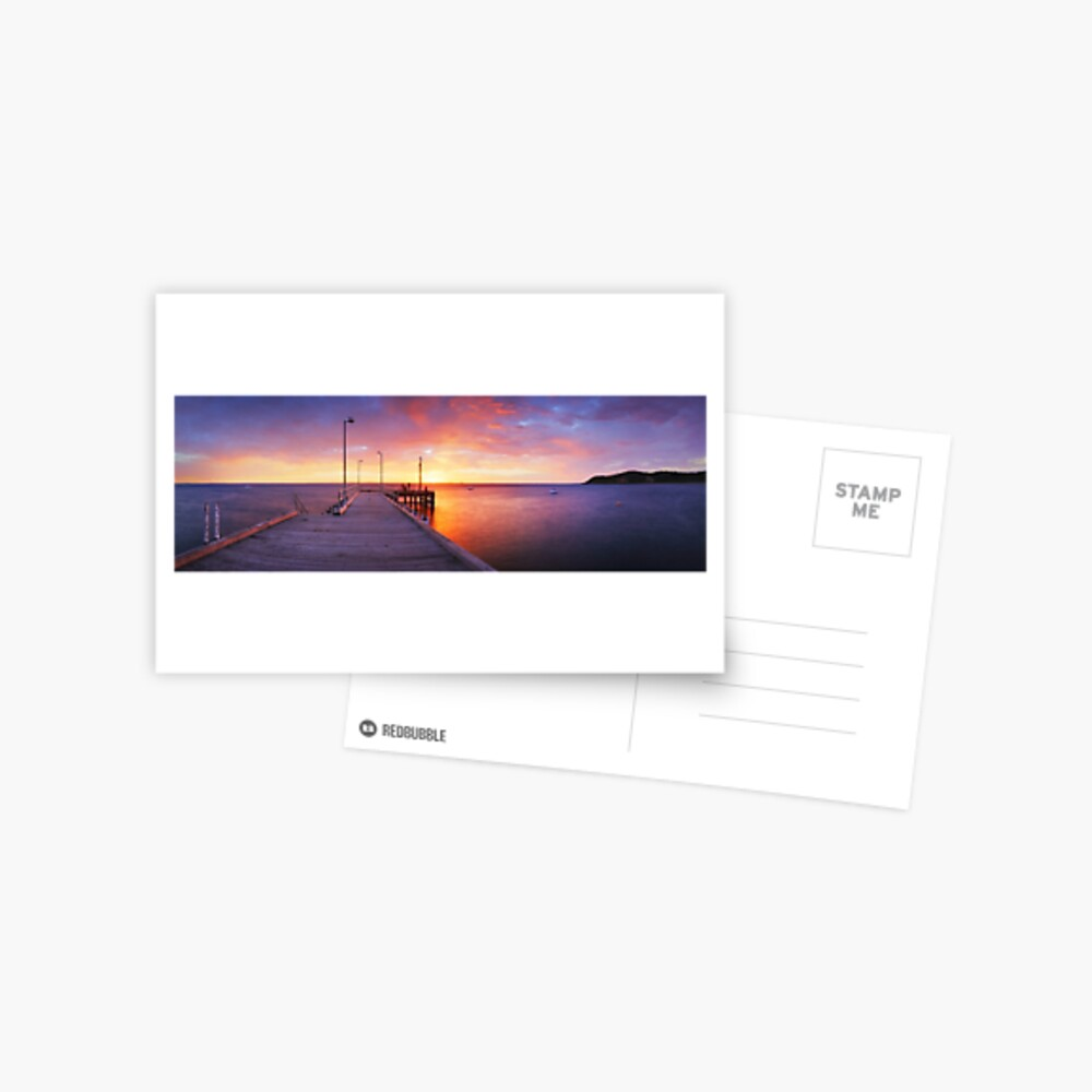 Flinders Pier, Mornington Peninsula, Victoria, Australia Postcard