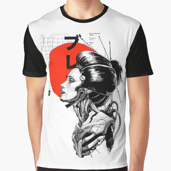 Cyberpunk Vaporwave Japanese Graphic T-Shirt