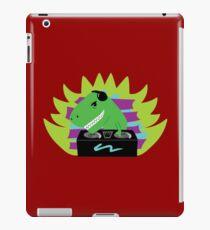 T-Rex Dinosaur DJ iPad Case/Skin