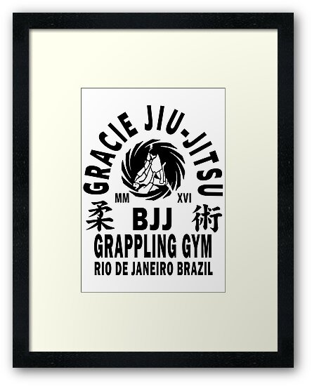 Gracie Jiu Jitsu by Wrong-Unz