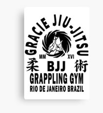 Gracie Jiu Jitsu Canvas Print