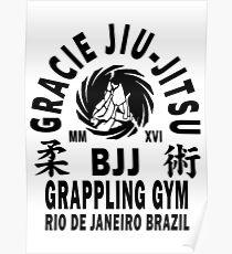Gracie Jiu Jitsu Poster