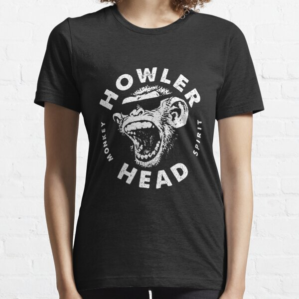Howler Head Monkey Kentucky Bourbon Whiskey Vintage Logo Tee Essential T-Shirt