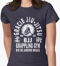 Gracie Jiu Jitsu Women's Fitted T-Shirt