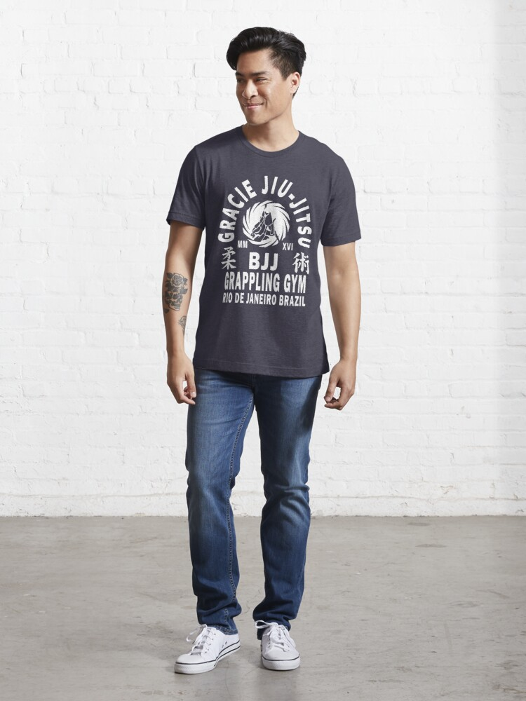 Alternate view of Gracie Jiu Jitsu Essential T-Shirt