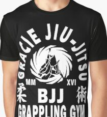 Gracie Jiu Jitsu Graphic T-Shirt